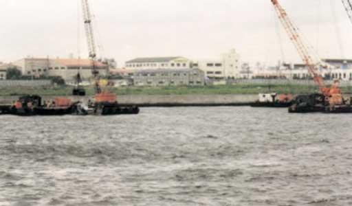 京浜島護岸建設工事